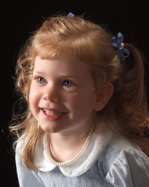 Amelia\'s Three-Year-Old Portrait