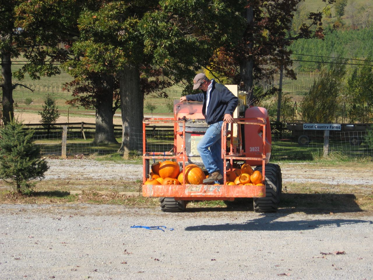 Pumpkin Chuckin\' Prep