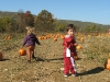 Amelia and Nathan in the Pumpkin Patch